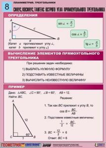 5. Планиметрия. Треугольники. (8)