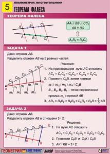 3. Планиметрия. Многоугольники. (5)