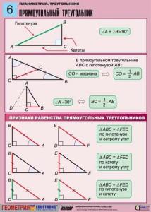 5. Планиметрия. Треугольники. (6)