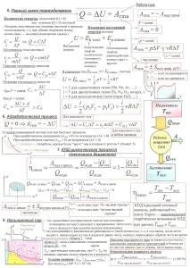 Все формулы и законы физики для ЕГЭ в таблицах. (10)