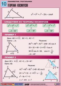 5. Планиметрия. Треугольники. (10)